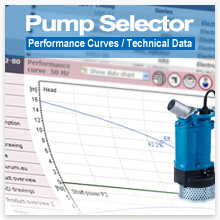 Pump Selector - Performance Curves / Technical Data